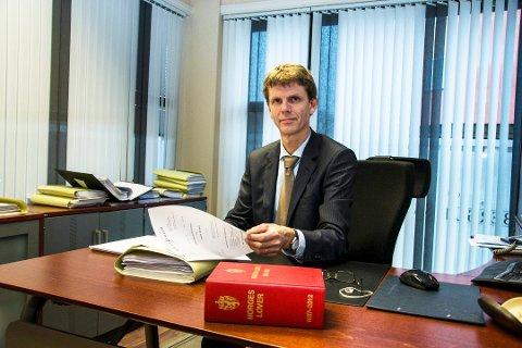 LARVIK-ADVOKAT: Anders Villum er nestleder i Advokatforeningen i Vestfold.