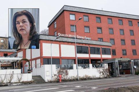 – UHELDIG: I midten av mars fikk Grand Hotell et forhåndsvarsel om prikktildeling for å ha brukt ordet «sprudlende» i en Facebook-annonse. Nå mener Marie Offenberg det er på tide med en gjennomgang av hvordan skjenkesaker skal håndteres i Larvik kommune.