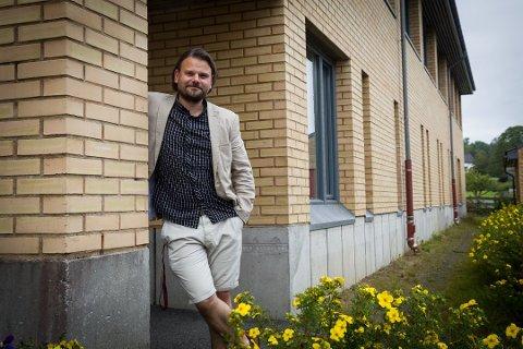 HAR SAGT OPP: Alexander Thorød har sin siste arbeidsdag i Larvik kommune 31. juli.
