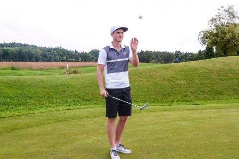 STABIL: Andreas Halvorsen tok sin andre topp ti-plassering på en uke på den latinamerikanske PGA-touren.
