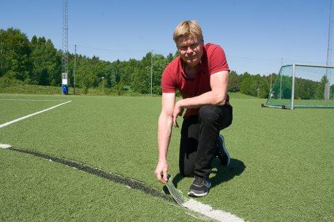 IKKE ERSTATTET: Idrettssjef Kjetil Lundeberg sluttet i Larvik kommune for ett år siden. Kommunedirektøren har ikke erstattet ham.