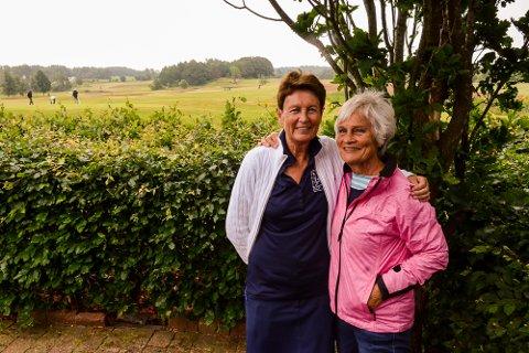 FOR BRYSTKREFTSAKEN: Maureen Sinclair og Grete Bekke gleder seg til årets Pink Cup.
