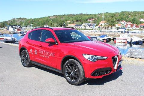 VELLYKKET DEBUTt: Alfa Romeos første SUV, Stelvio, er en romslig familiebil med supre kjøreegenskaper.
