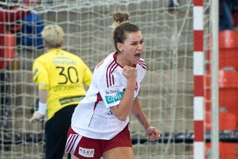 KOMMER: Amanda Kurtovic skal være instruktør på Larvik Håndballskole neste uke.