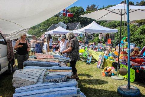 Tradisjon: Marked i Ula har vært en lang tradisjon. - Vi passer på å utstille litt forskjellig hvert år, slik at det skal bli mer spennende, forteller ansvarlig Merete Døvle.