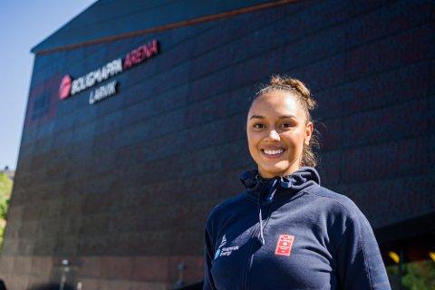 LÅNES UT: Yasminee Gluic lånes ut til Byåsen resten av sesongen.