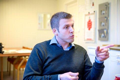TREKKER SEG: Lars Johan Røsholt trekker seg fra politikken når denne perioden går ut.