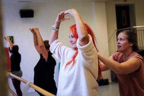 TOK SJANSEN: – Det var på tide å prøve noe nytt, sier Jorunn Inghilleri, som har fullført kurs i klassisk ballett.