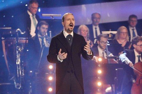 OPERA: Ole Børud sang opera på en imponerende måte og mottok skryt i store mengder for sin prestasjon.