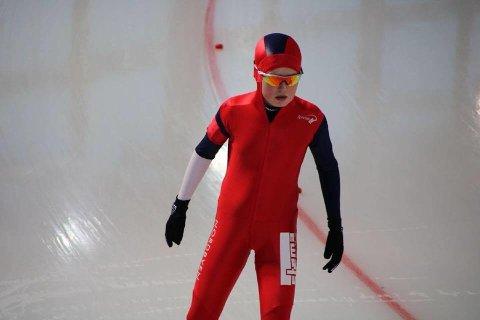 Filip Møller Nordal var fokusert før start.