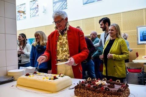 FERDIG: Asbjørn Talset har et langt arbeidsliv bak seg og kunne trygt lage en fest ut av den siste arbeidsdagen på NAV denne høsten.