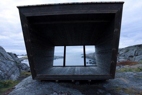 NYBYGG: Larviks to første padlehuker er klare til bruk.