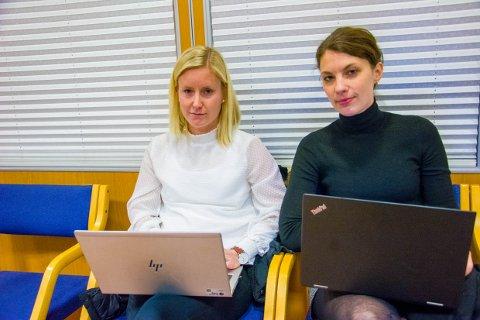 SKUFFEDE: Andrea Sundby Høst og Ina Holtsdalen har kjempet for Varden barnehage. Onsdag ettermiddag gikk de på en smell i formannskapet, men de har ikke gitt opp håpet.