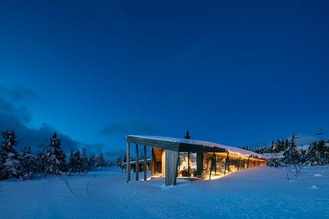 LEKKER HYTTE: – Vi trives med å samarbeide med arkitekter hvor det er mange spesielle løsninger, og for folk som ønsker seg noe ekstraordinært, sier Ola Guren. Eksempel på spennende samarbeid er denne hytta.