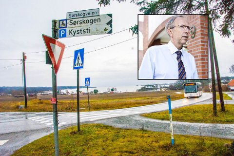 REAGERER: Seks hytteiere i Sørskogveien har fått varsel om pålegg og tvangsmulkt. Advokat Søren Ø. Hellenes reagerer på kommunens framgangsmåte.
