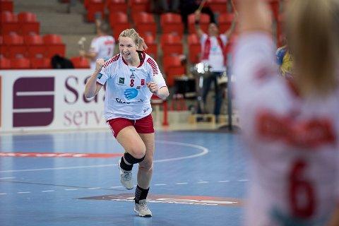 SMILENE KOM FREM IGJEN: Mari Molid og LHK reiste seg og fikk revansje mot Molde. Nå skal alt avgjøres på søndag.