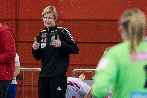 TOMMEL OPP: Kun formaliteter gjenstår før Lene Rantala kan kalle seg LHKs nye hovedtrener ut sesongen.