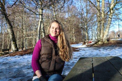 TOK SATS: Da Silje Helene Rimstad ikke fikk den jobben hun ønsket, startet hun like gjerne eget firma.