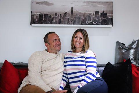 SATSER SAMMEN: -Det har vært blodslit for å komme dit vi er i dag, men vi elsker livsstilen vi har skapt for oss selv, sier Glenn Oscar og Therese Førland.