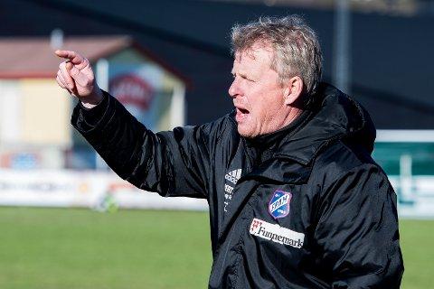 BLIR MORO: Fram-trener Roger Iversen er fornøyd med at Strømsgodset blir motstander i cupen.