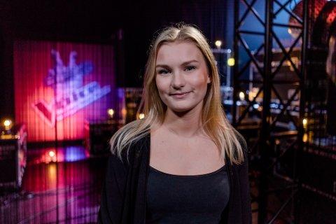 STEMME: Amanda Hellesøe Rusti har gjort det veldig bra i denne sesongen av The Voice på TV2.