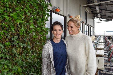 PRIDE: Anja Og Gro Hammerseng Edin vil lage en festdag som beveger seg fra Torget til Pakkhuset torsdag 27. juni.