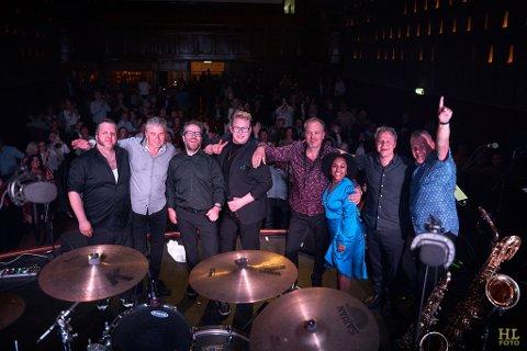 FESTIVAL: The Norwegian Soulband har mange festivaljobber bak seg. Nå skal de varme opp publikum i Stavern.
