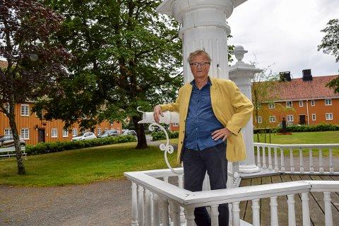 GRATIS: Morten Bjørgan byr også i år på gode gratis musikkopplevelser i Stavern.