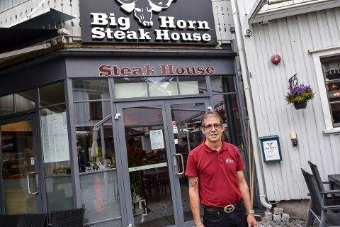 SKREMT: Tony Medeiros som driver Big Horn ble litt skremt da det kom en telefon fra Oslo.