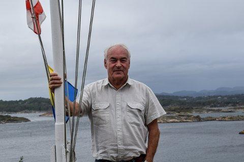KANSKJE: Rolf Henrik Johnsen har tippet anstendige 74 år og skal gi seg med litt av hvert, kanskje.