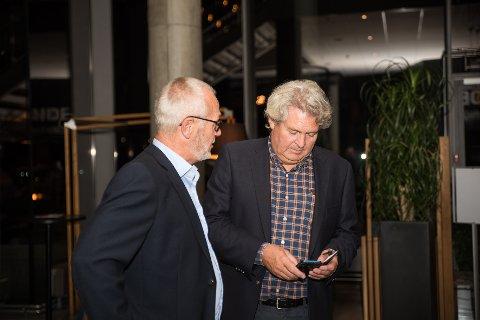 BRUDD: Hallstein Bast og Rune Høiseth har samarbeidet politisk i åtte år. Nå mener Bast at Ap har bedrevet et skittent spill etter valget.