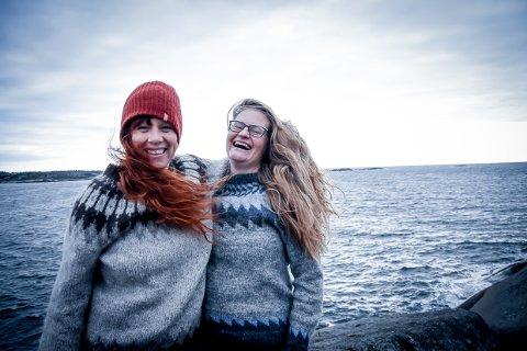 NY RYTME: Da Siri Urnes Hovland (til høyre) ble sykemeldt i august, sendte hun en tekstmelding til venninne Mona Moe Machava.