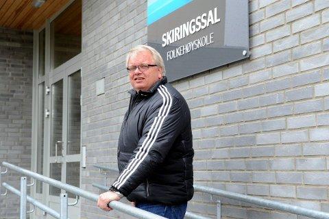 VIL BYTTE: Rektor ved Skiringssal folkehøyskole, Knut Søyland, vil at skolen endre navn.