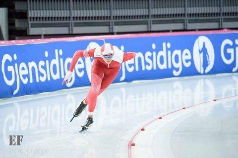 Mistet sølvet: Frams Kasper Tveter falt fra en sølvmedalje under NM i sprint for juniorer i helgen.