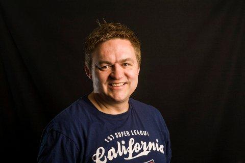 Nyhetsredaktør i Østlands-Posten, Henning Rugsveen ØP