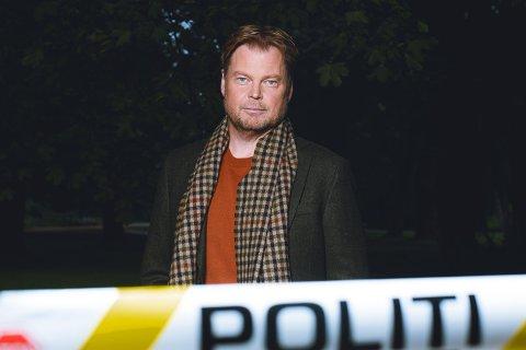 PÅ TOPP: Larvik-forfatter Jørn Lier Horst.