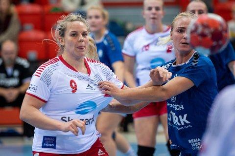 HAR TROA: Anette Sundfær Johnsen har tro på at Larvik HK kan snu den dårlige trenden.