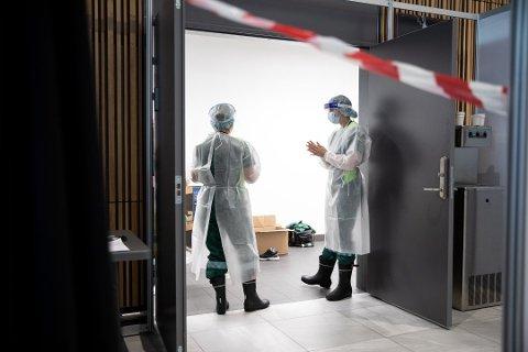 SMITTE: En butikkansatt har fått påvist smitte, og Larvik kommune ber dem som har vært innom butikken mandag eller tirsdag denne uka om å ta kontakt for testing.