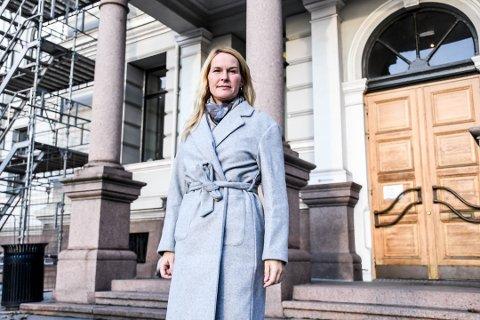 BEKYMRET: Ordfører i Skien, Hedda Foss Five, er bekymret over en smittetrend som ikke går nedover.