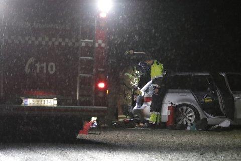 BEGYNTE Å BRENNE: Bileieren klarte selv å slukke brannen før brannvesenet ankom stedet.