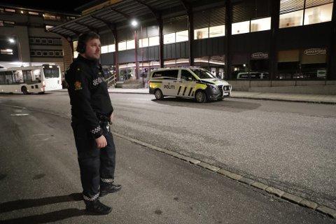 IKKE HVERDAGSKOST: Krimsjefen i Larvik, Knut Vidar Vittersø, vedgikk etter ranet under Coop Extra at det ikke var så proft å kjøre mot Oslo i en etterlyst bil. Der ble gjerningsmennene pågrepet.