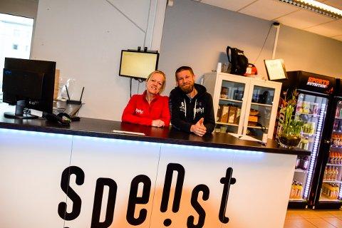 OPTIMISTISKE: Susanne Nilsen og Torgeir Jørgensen er glade for økning i unge medlemmer.