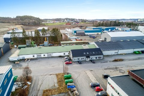 SOLGT: Lokalene til Celcius AS på Hegdal ble lagt ut for salg til 13,5 millioner kroner, nå er eiendommen solgt. Foto: Eiendomsmegler 1 Næringsmegling/Bjørn Kjærra