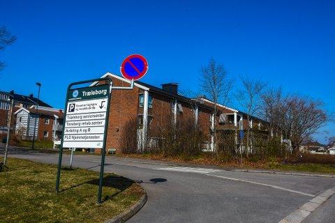 SMITTE: To avdelinger på Træleborg sykehjem ble stengt for besøkende som følge av smittetilfelle.