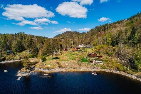 GOD PLASS: For rett i underkant av fire millioner er det denne eiendommen til salgs.