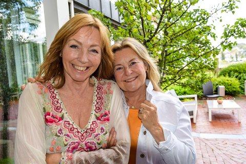 STAVERN: Elisabeth Andreassen og Anita Skorgan inviterer til fem show i Stavern, og lover både humor og alvor.