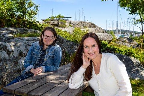 KOM: Jørgen Krøger Mathisen (25) og Anita Berge Heivoll (42) inviterer til konsert på Galeiscenen 14. juli.