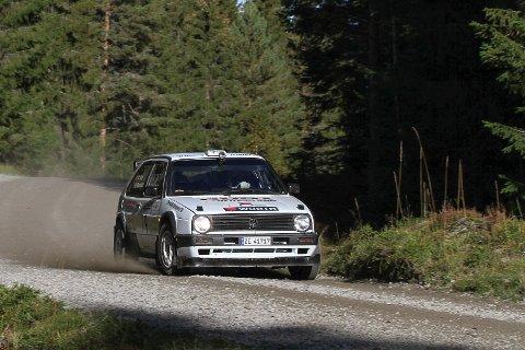 Anders Kjær fra Rally Hedemarken i fjor, ta han tok NM-gullet han hadde som mål med denne bilen.