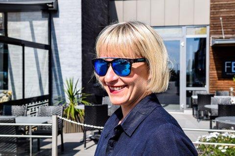 FULLT: Hedda Johannessen fra Fritzøe Eiendom fortelle at innholdet i Fritzøe Brygge er under endring og at alle lokaler Fritzøe Eiendom har i Hammedalen er utleid.