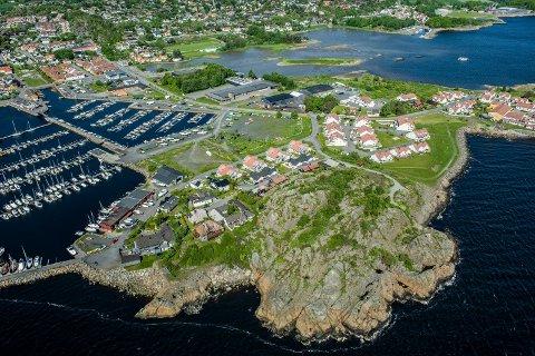 VIL OMREGULERE: Larvik kommune vil ikke utrede miljøkonsekvensene av den lenge planlagte Risøyakanalen. Og samtidig foreslås det å fjerne den fra reguleringskartet.